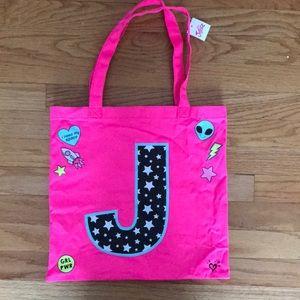 """Justice Girls """"J"""" bag"""